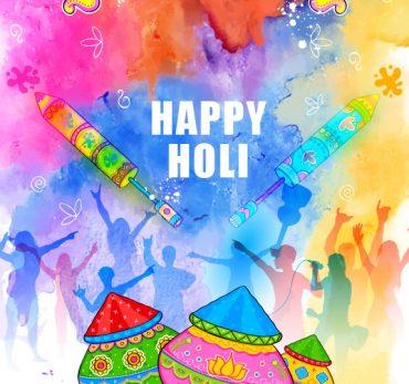 AN INDIAN FESTIVAL HOLI